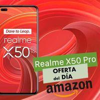 Super rebajado: el Realme X50 Pro con 12 GB de RAM y 256 GB de almacenamiento, cuesta hoy en Amazon 119 euros menos para los usuarios Prime
