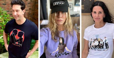 Los protagonistas de Friends lanzan una colección de ropa de edición limitada con momentazos de la serie