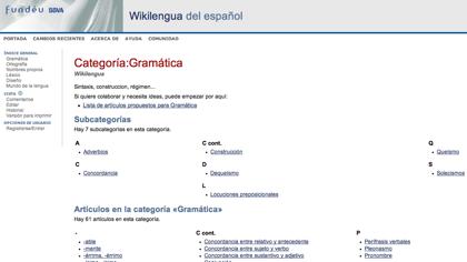 Wikilengua, portal colaborativo sobre el castellano