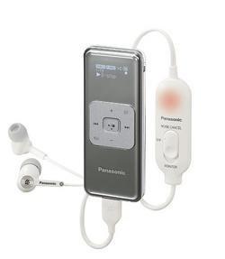 Panasonic presenta nuevos MP3 de tarjeta SD y altavoces para ellos