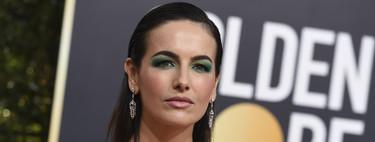 Camilla Belle se apunta a la tendencia del momento en los Globos de Oro 2019: mirada en verde esmeralda