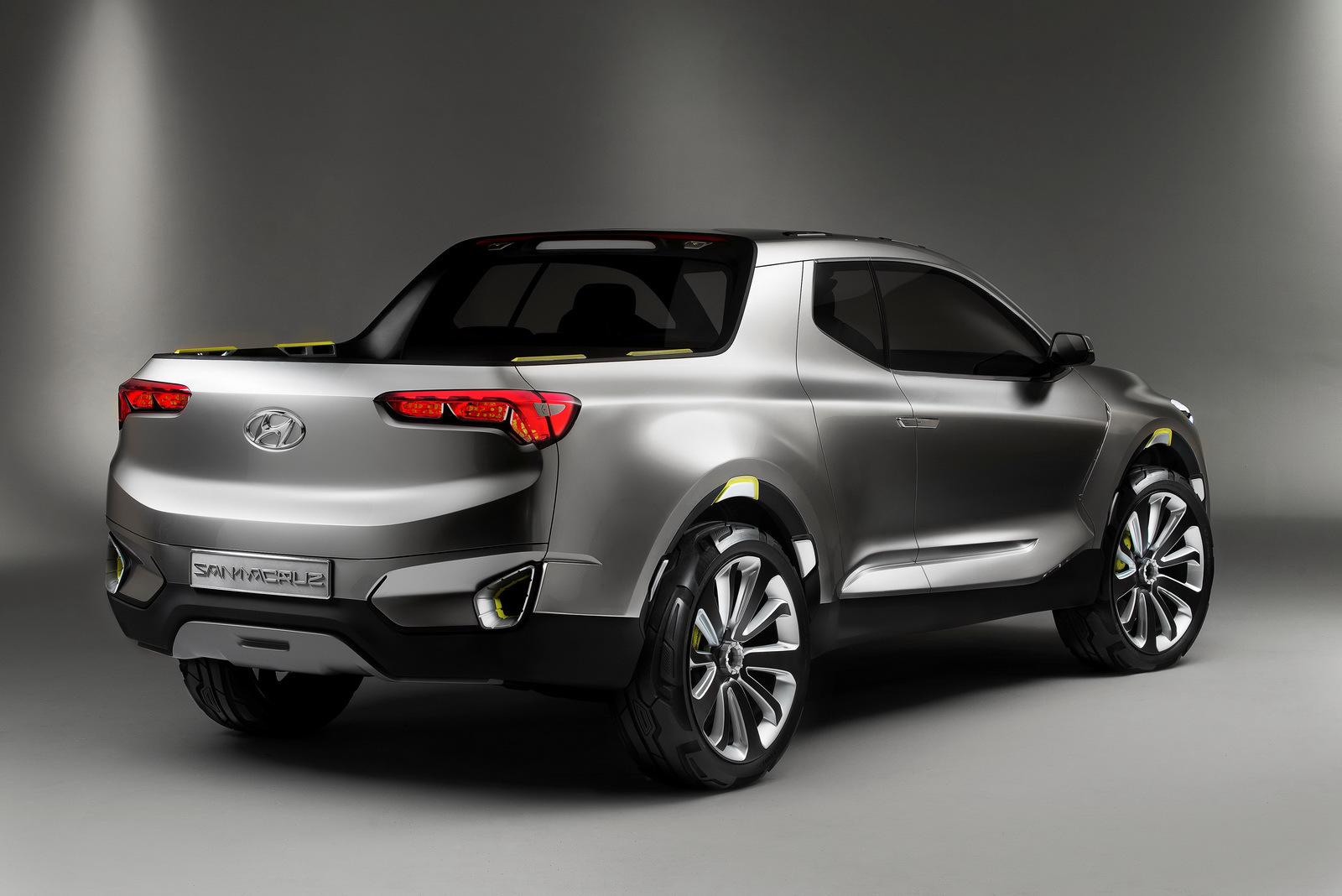 Foto de Hyundai Santa Cruz Crossover Truck Concept (2/12)