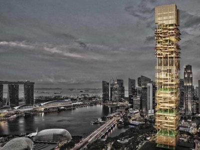 Singapur se prepara para construir rascacielos como si fueran Legos, sólo con impresión 3D
