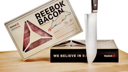 Tocino marca… ¿Reebok?