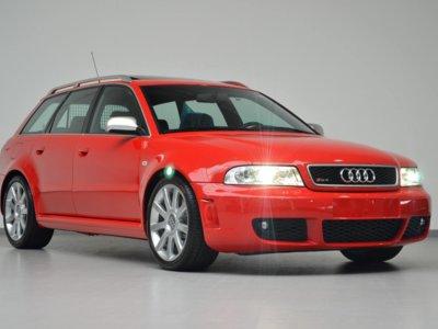¿Qué tiene de especial este Audi RS4 Avant quattro de 2001 para costar 100.000 euros?