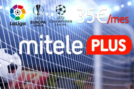 Ver casi todo el fútbol sin atarse a un operador: Mitele Plus emitirá LaLiga, Champions y Europa League