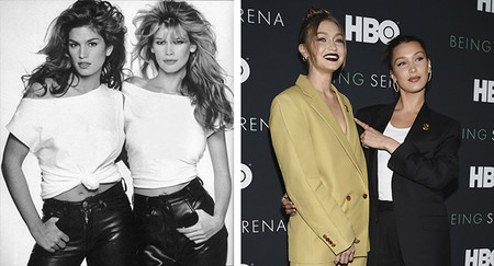 Top Models Gigi Hadid Y Bella It Girls 90s Versus It Girls 2018