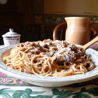 Pasta alla Norma: receta del exquisito plato siciliano de pasta con berenjena