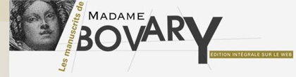 Disponible en internet el manuscrito de 'Madame Bovary'