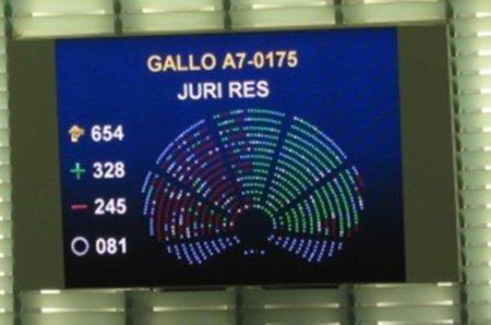 Ningún eurodiputado del PSOE votó en contra del Informe Gallo