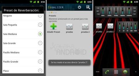 Equalizer, pon un ecualizador en tu Android