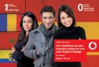 Vodafone también estrena tarifa prepago con 0 céntimos nacionales y 1 céntimo internacional