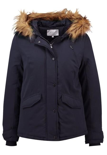 Si buscas un abrigo barato en Zalando tienes el Vila Vimust en negro por sólo 19,95 euros con envío gratis