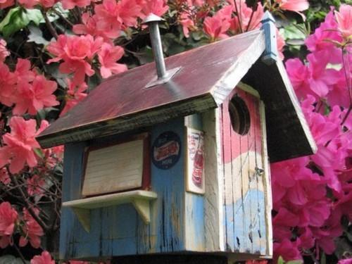 Foto de Vrubel, encantadoras casas de pájaros con encanto (1/6)