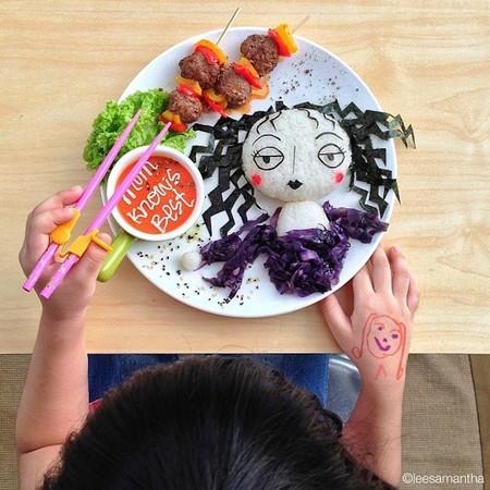 Samantha Lee y sus creaciones culinarias: platos saludables que representan paisajes y personajes conocidos
