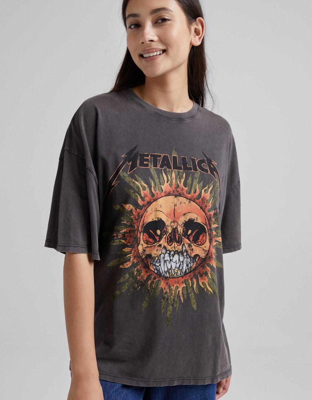 Camiseta Metallica.
