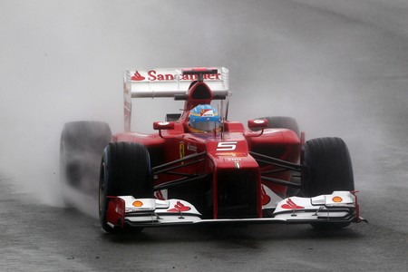 Alonso Silverstone F1 2012