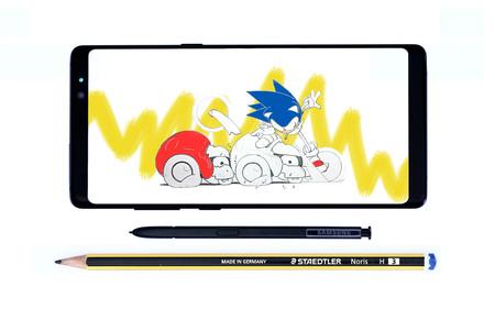 El S Pen del Galaxy Note 8
