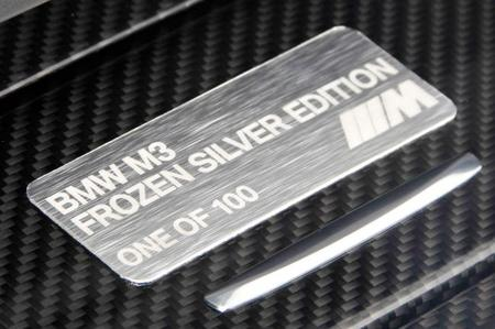 BMW M3 Coupé Silver Frozen Edition