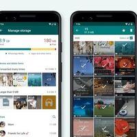 WhatsApp te pone más fácil encontrar y borrar fotos y vídeos de tu móvil con su nuevo gestor de almacenamiento