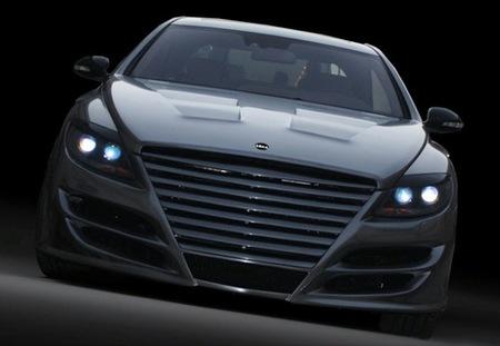 Phant-ASMA, el Mercedes CL cromado de ASMA Design