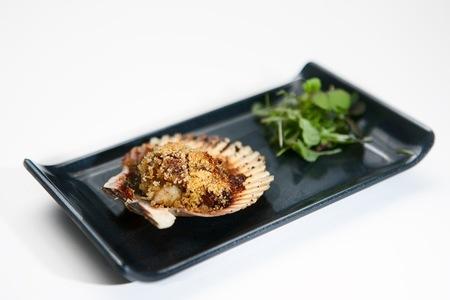 Vieira con Foie - Restaurante Materia Prima Madrid