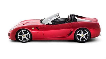 Ferrari SA Aperta, así es la versión convertible del Ferrari 599 GTB