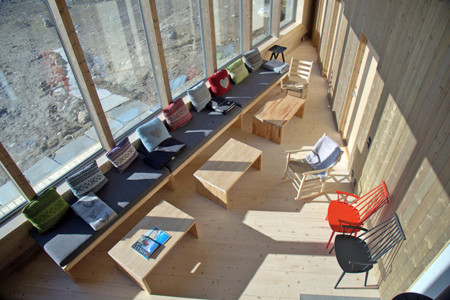 Jarmundvigsnaes Arkitekter Energy Efficient Rabot Tourist Cabin 6
