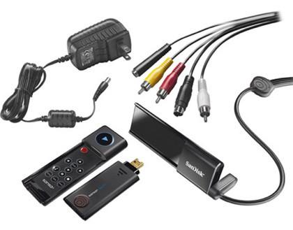 SanDisk Sansa TakeTV, reproduce vídeo en el televisor