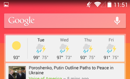 Google News & Weather se actualiza con un cambio total en su aspecto