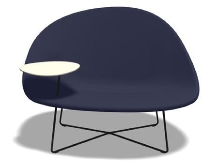 ¿Buena o mala idea?: la mesa atornillada en el sofá