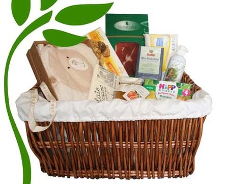 Cestas ecológicas como regalo de nacimiento