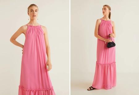 Vestido Rosa Rebajas