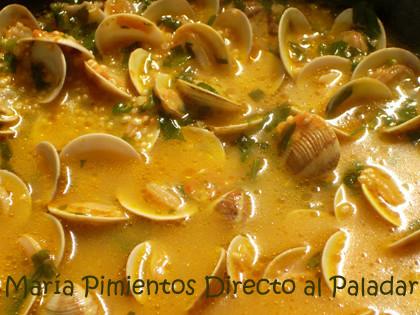 sopa de quinoa con almejas 2