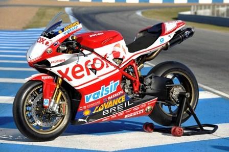 Presentada la decoración del Ducati Xerox de Superbikes