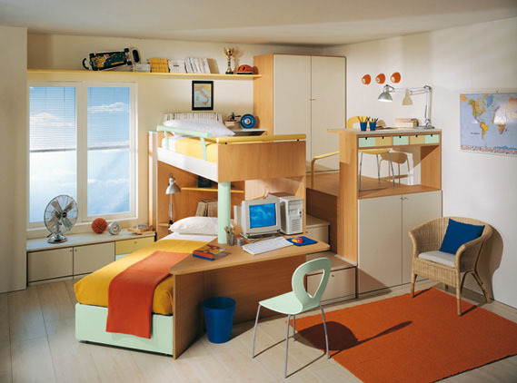 Foto de Dormitorios juveniles Sangiorgio (1/9)