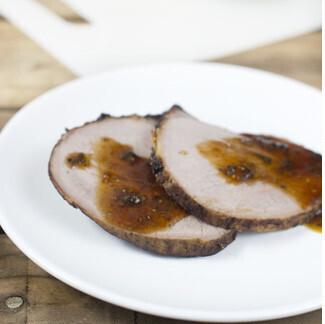 Receta de redondo asado con jengibre y mostaza