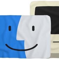Tras los cojines, Throwboy ha lanzado una línea de mantas inspiradas en el Finder y en el Macintosh clásico