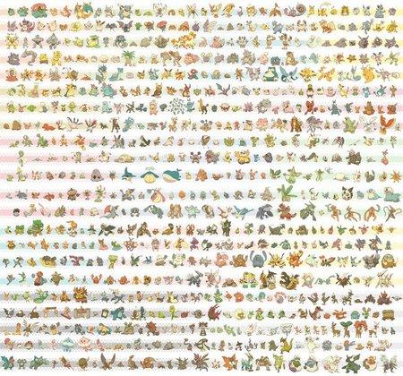Foto maldita: todos los Pokemon juntos, los 646