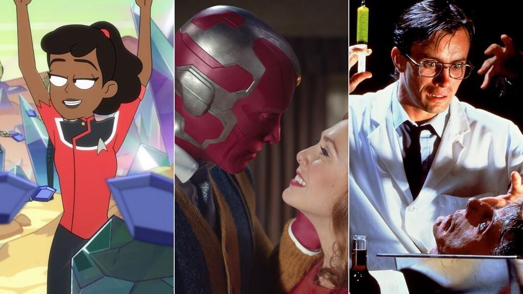 Todos los estrenos en enero 2021 de Amazon, Filmin, Starzplay y Disney+: 'Star Trek - Lower Decks', 'Bruja Escarlata y Visión' y más