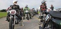 Kawasaki W800 Gentlemen Cup, en Suiza también hacen competiciones
