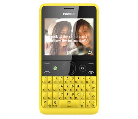 colores, como es habitual en toda la familia de teléfonos Nokia ...