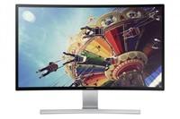 No sólo televisores, Samsung también tiene un monitor curvo