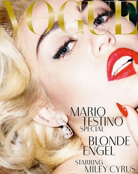 Miley Cyrus para Vogue Alemania