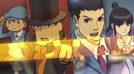 'Professor Layton vs. Ace Attorney' llegará a Europa en 2014