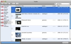 Tooble, de YouTube a tu iPod/iPhone en un paso