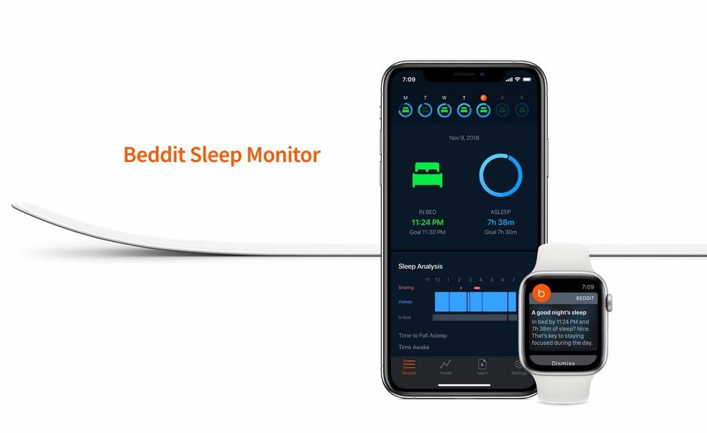 Apple lanza el nuevo sensor Beddit 3.5 para investigar vuestro sueño