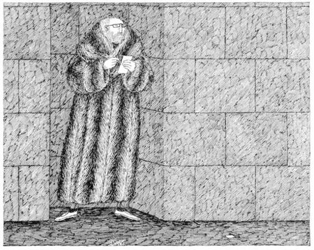 Dibujo de Gorey