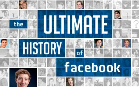 La historia completa de Facebook, la infografía de la semana