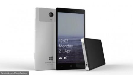 Así podría ser el primer smartphone con el que Microsoft utilizaría la marca Surface